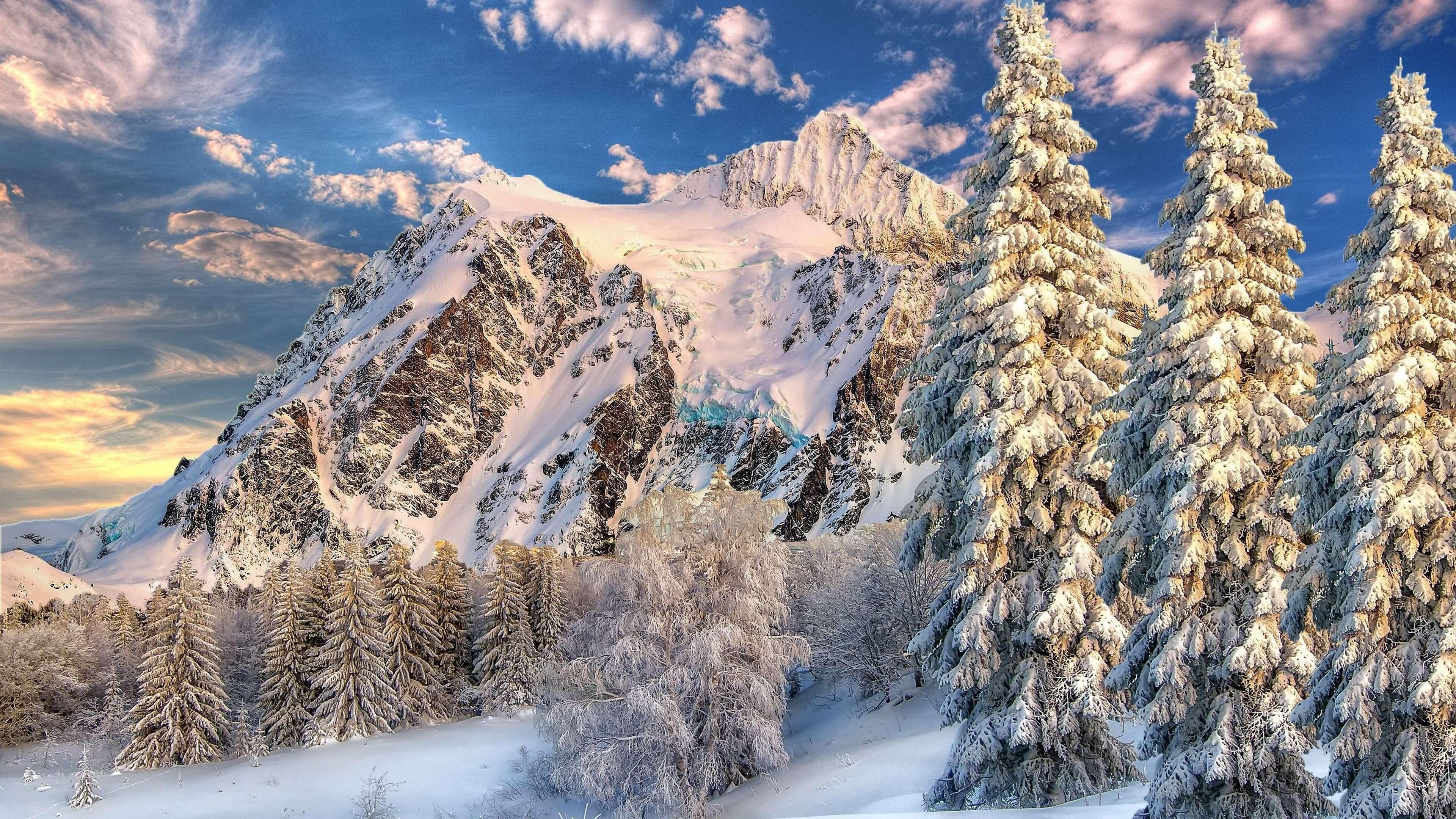 Красивые зимние картинки, пейзажи природы - подборка 25 штук 14
