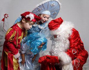 Дед мороз и снегурочка - подборка красивых и милых картинок 18