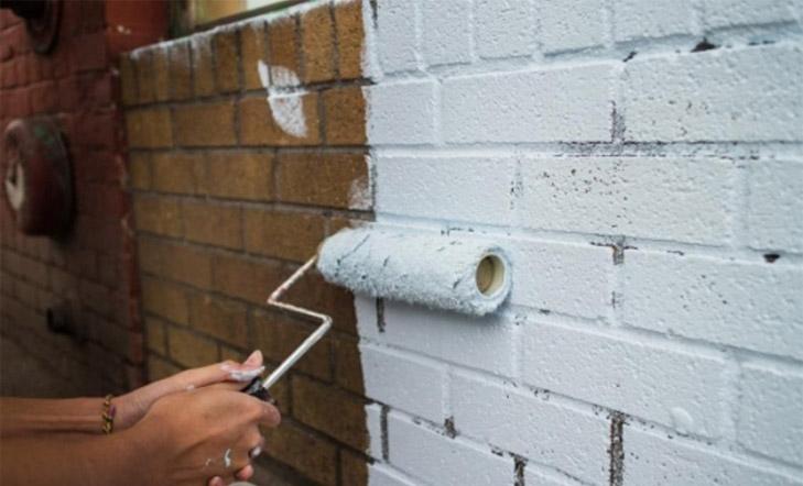 Как покрасить старую кирпичную кладку Реставрация и покраска 1