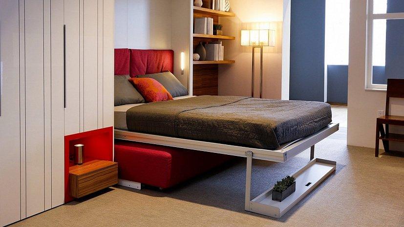 Откидная кровать - идеальное решение для однокомнатной квартиры 3