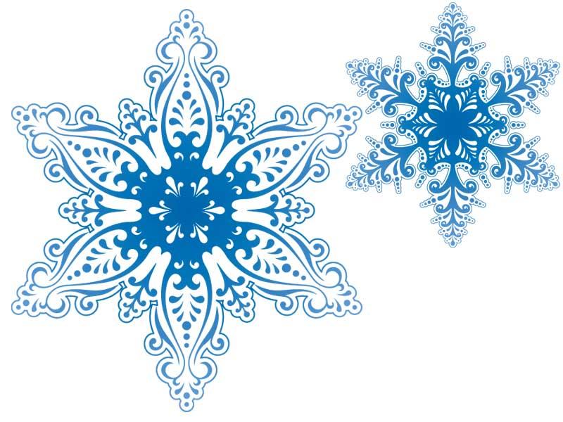Открытки снежинки красивые, для