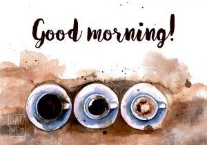 Прикольные и красивые картинки Good Morning - подборка 6