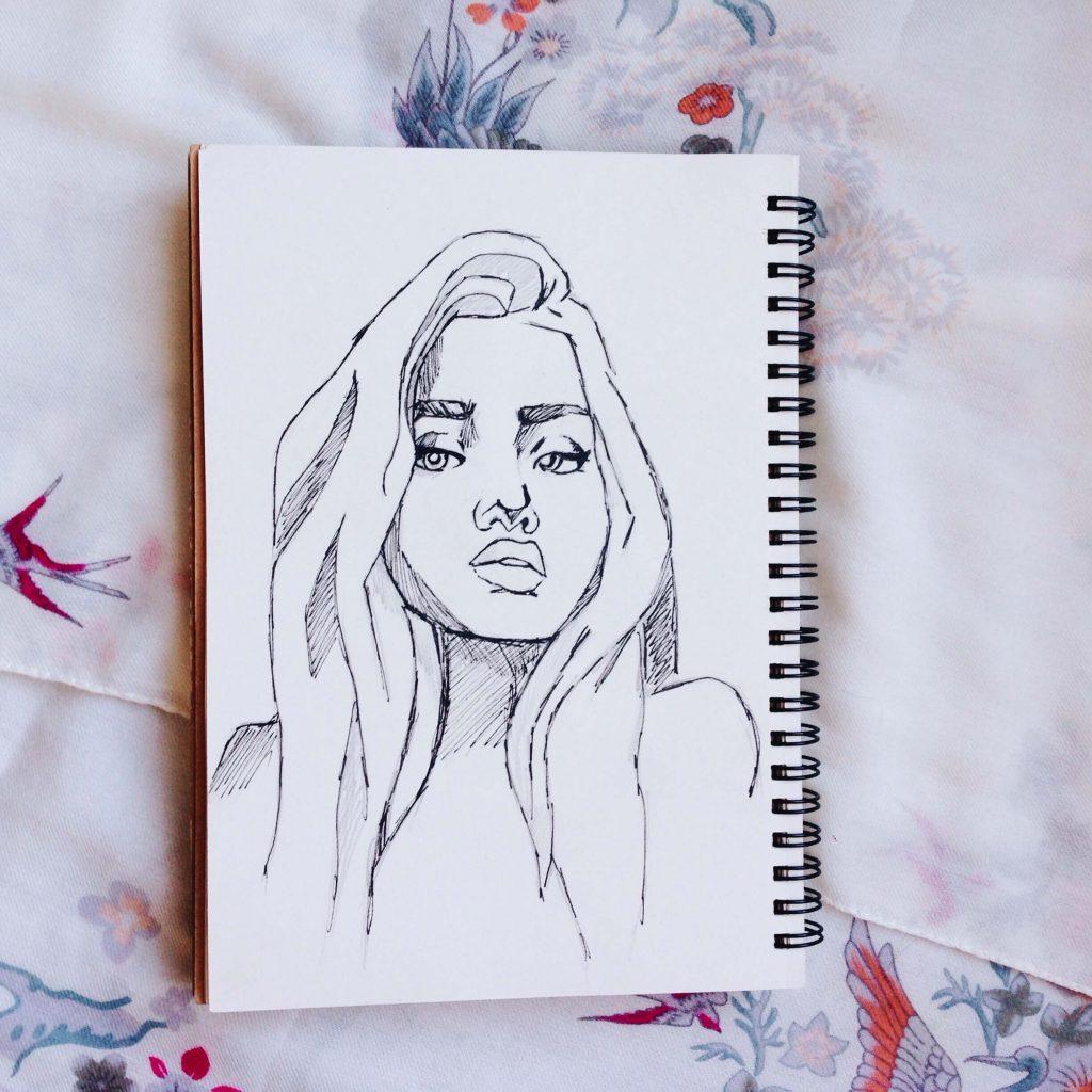 Картинки для скетчбука простые и легкие