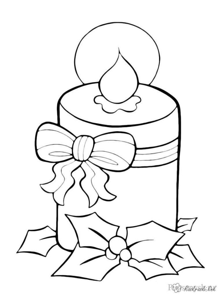 Шкатулка, новогодняя открытка рисунок легкий