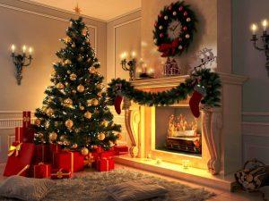 Красивые фото и картинки новогодней елки 2019 - подборка 16