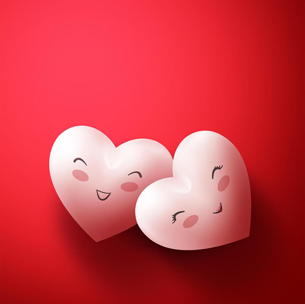 первых красивые картинки валентинки на телефон любое для