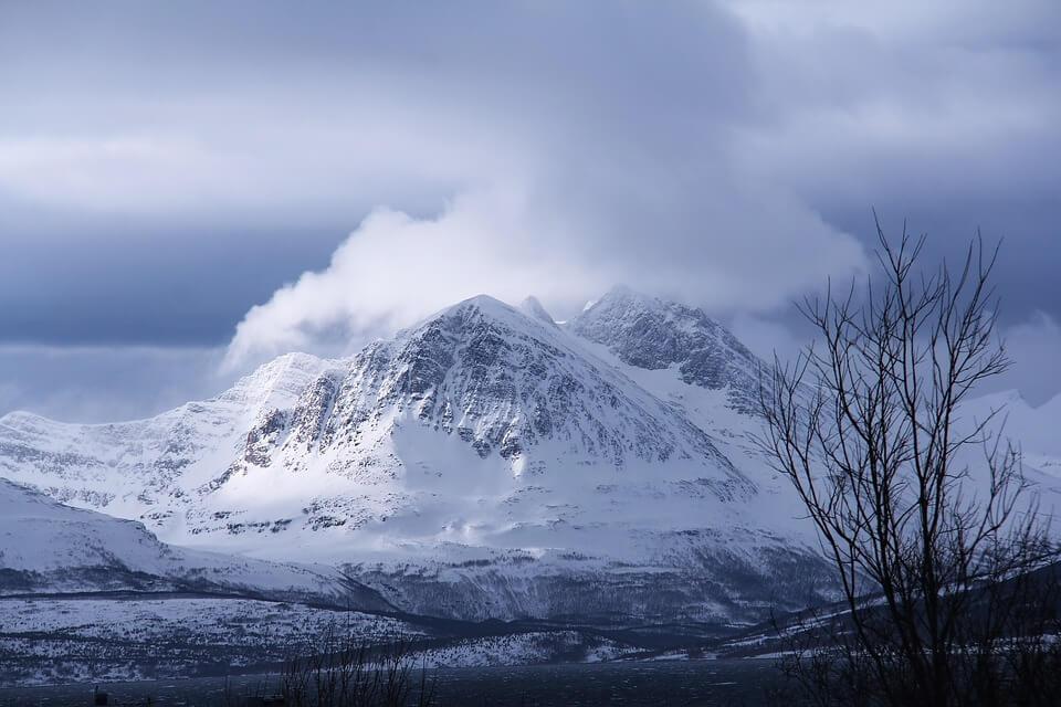 Снежные горы - удивительные картинки и фотографии 1