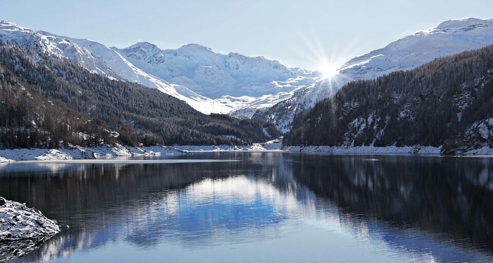 Снежные горы - удивительные картинки и фотографии 3