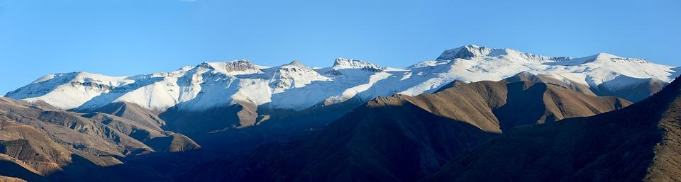 Снежные горы - удивительные картинки и фотографии 4