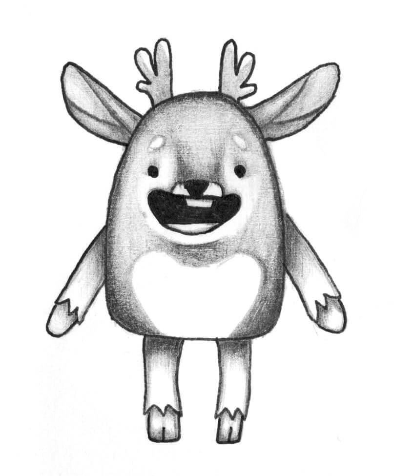 Смешные мультяшные картинки для срисовки, картинки поздравления