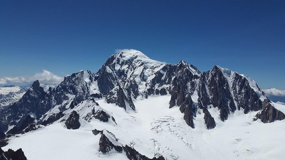 Снежные горы - удивительные картинки и фотографии 6