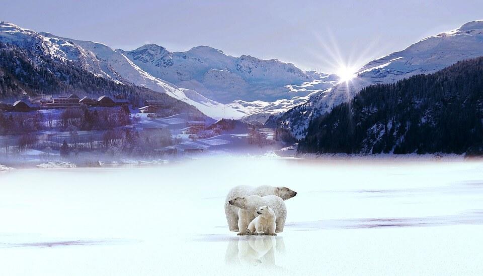 Снежные горы - удивительные картинки и фотографии 7