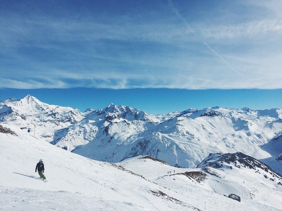 Снежные горы - удивительные картинки и фотографии 10