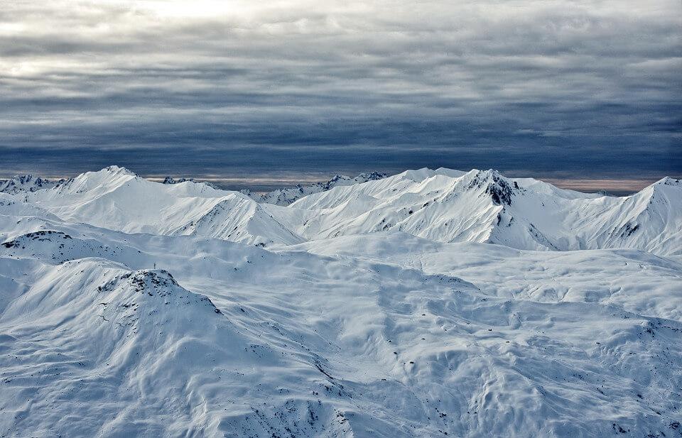 Снежные горы - удивительные картинки и фотографии 9