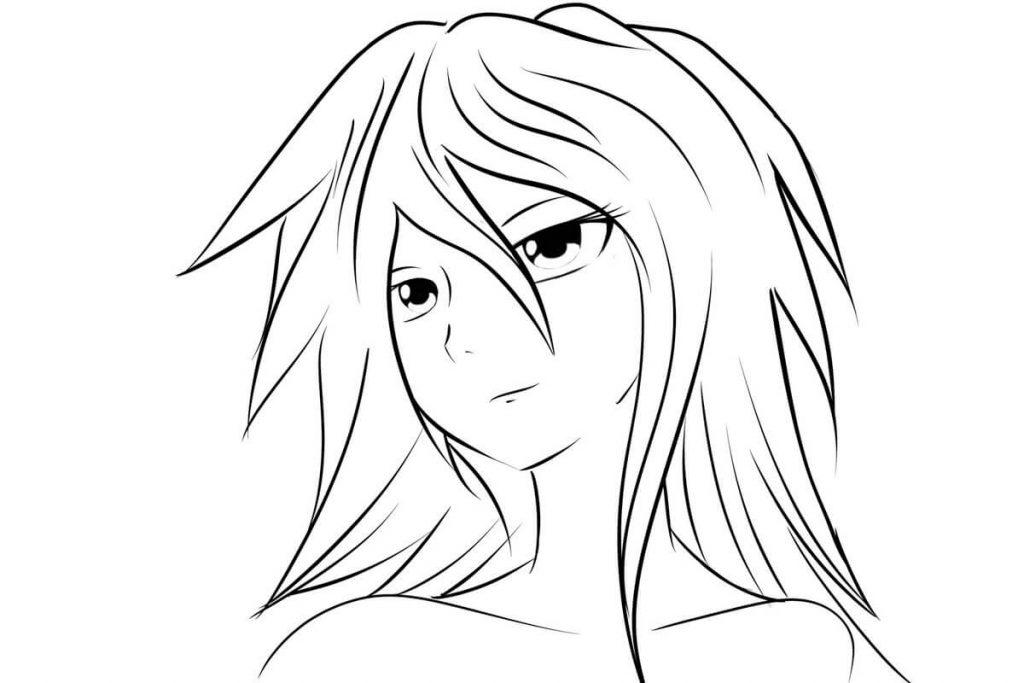Картинки аниме легкие