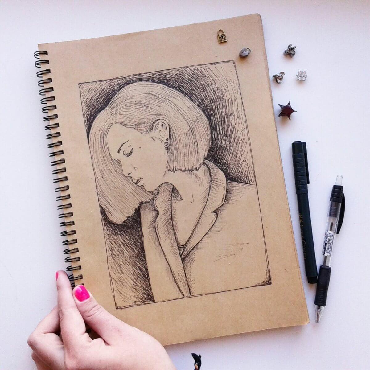 Для, необычные простые картинки для срисовки