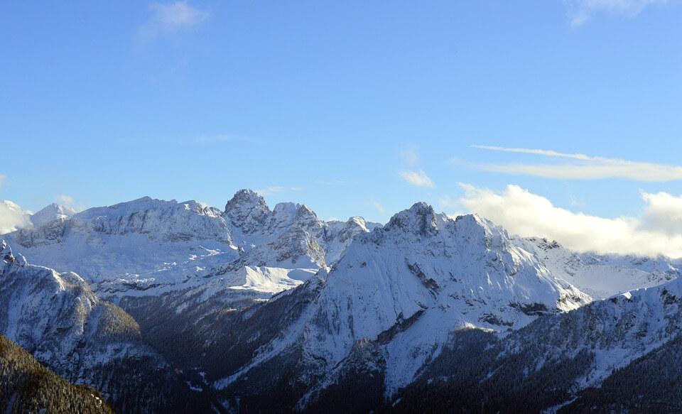 Снежные горы - удивительные картинки и фотографии 12