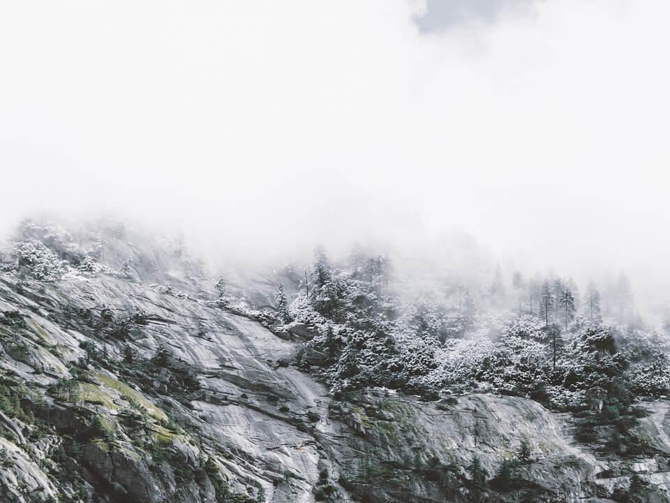 Снежные горы - удивительные картинки и фотографии 13