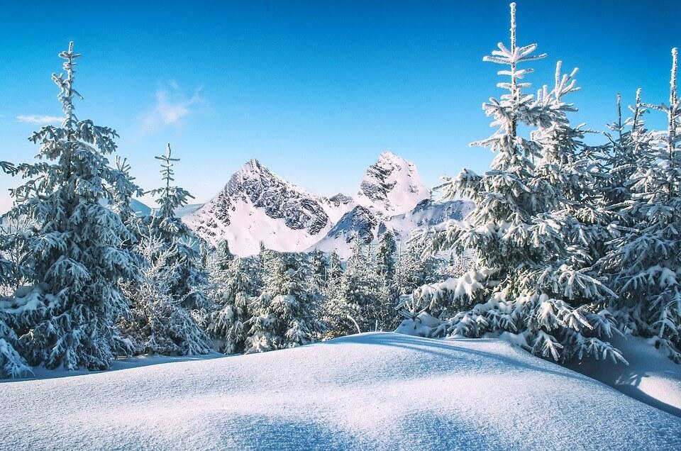 Снежные горы - удивительные картинки и фотографии 15