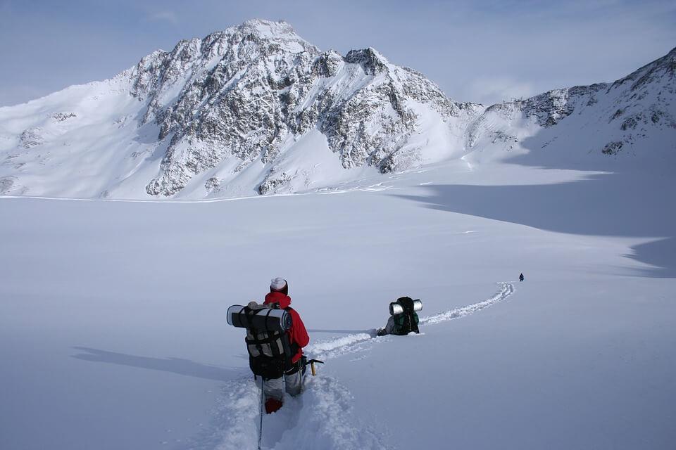 Снежные горы - удивительные картинки и фотографии 16