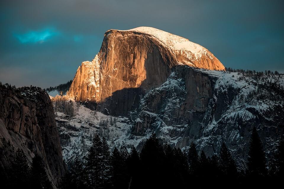 Снежные горы - удивительные картинки и фотографии 17