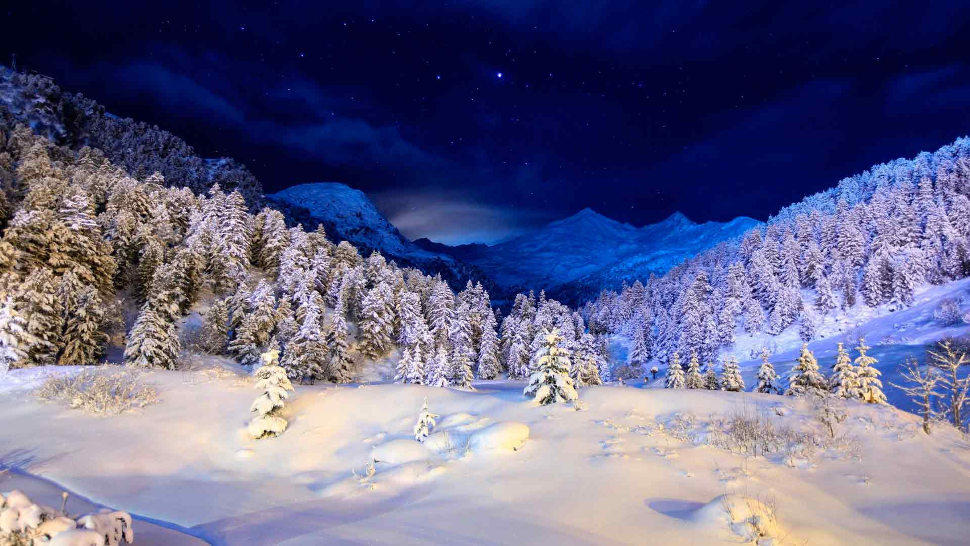Красивые фотографии на рабочий стол про зиму