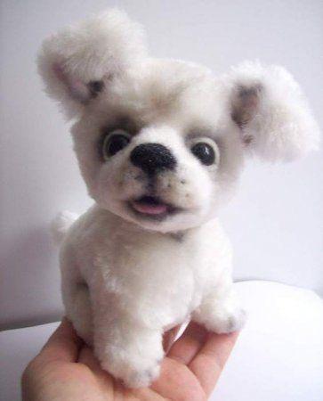 Выкройка собаки из ткани своими руками   коллекция (26 картинок) (1)
