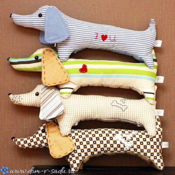Выкройка собаки из ткани своими руками   коллекция (26 картинок) (13)