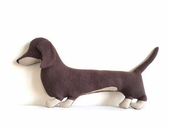 Выкройка собаки из ткани своими руками   коллекция (26 картинок) (17)