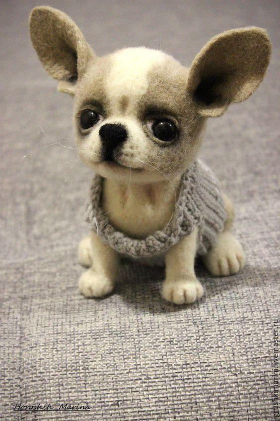 Выкройка собаки из ткани своими руками   коллекция (26 картинок) (19)