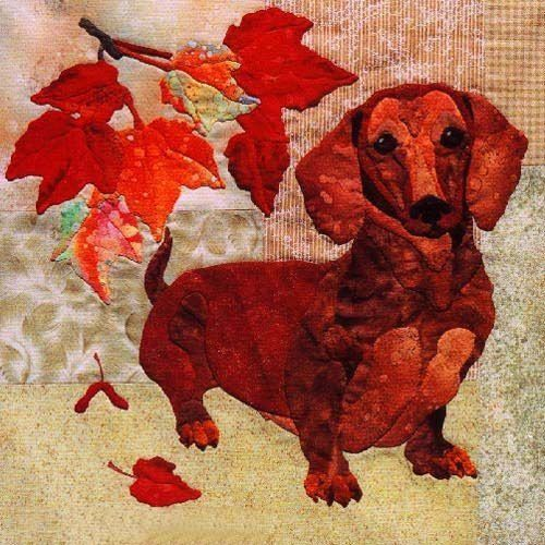 Выкройка собаки из ткани своими руками   коллекция (26 картинок) (24)