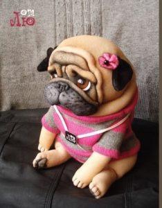 Выкройка собаки из ткани своими руками   коллекция (26 картинок) (25)