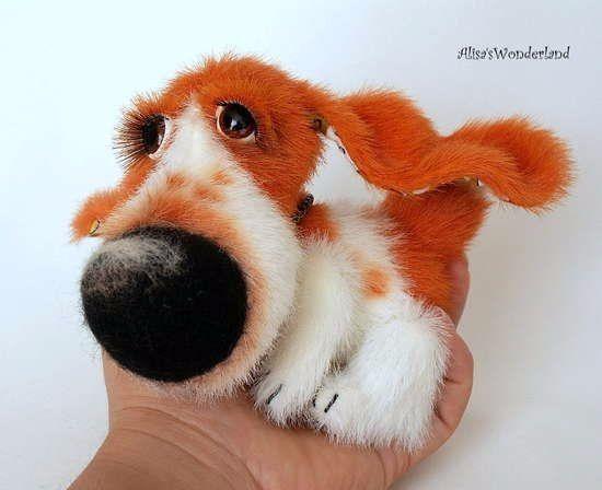 Выкройка собаки из ткани своими руками   коллекция (26 картинок) (4)