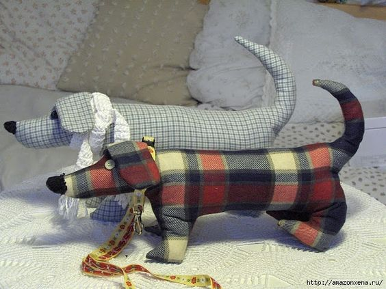 Выкройка собаки из ткани своими руками   коллекция (26 картинок) (7)