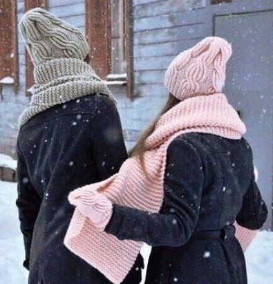Вязаные шапки и снуды в тренде этой зимой 2019   коллекция (25 картинок) (12)