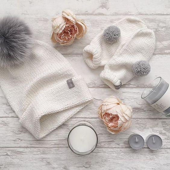 Вязаные шапки и снуды в тренде этой зимой 2019   коллекция (25 картинок) (20)