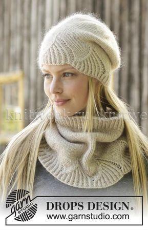 Вязаные шапки и снуды в тренде этой зимой 2019   коллекция (25 картинок) (21)