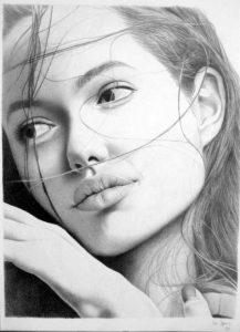 Девушки нарисованные   красивые рисунки (35 картинок) (20)