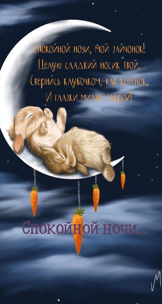 Доброй ночи картинки красивые для любимой   коллекция открыток 20 штук (1)