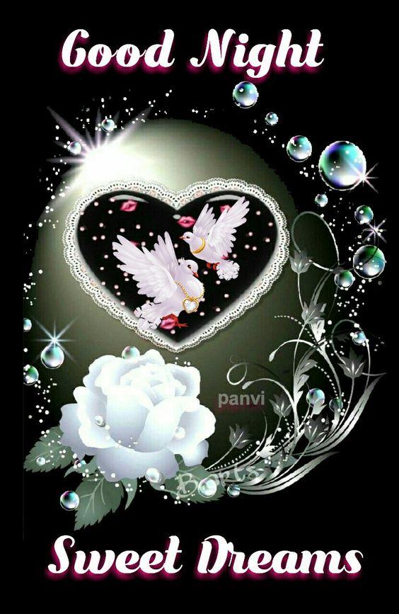 Доброй ночи картинки красивые для любимой   коллекция открыток 20 штук (2)