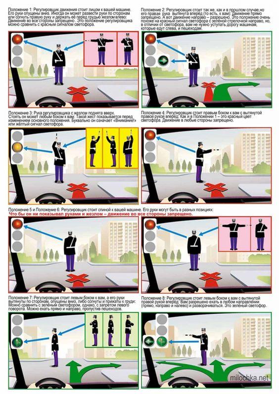 Картинки правила дорожного движения   подборка (28 картинок) (9)