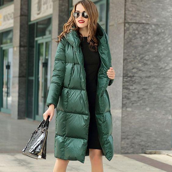 Модные пуховики зима 2019 фото женские модные   коллекция (29 картинок) (12)
