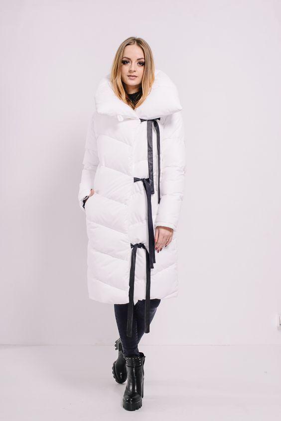 Модные пуховики зима 2019 фото женские модные   коллекция (29 картинок) (14)