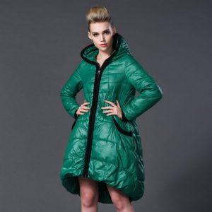 Модные пуховики зима 2019 фото женские модные   коллекция (29 картинок) (16)