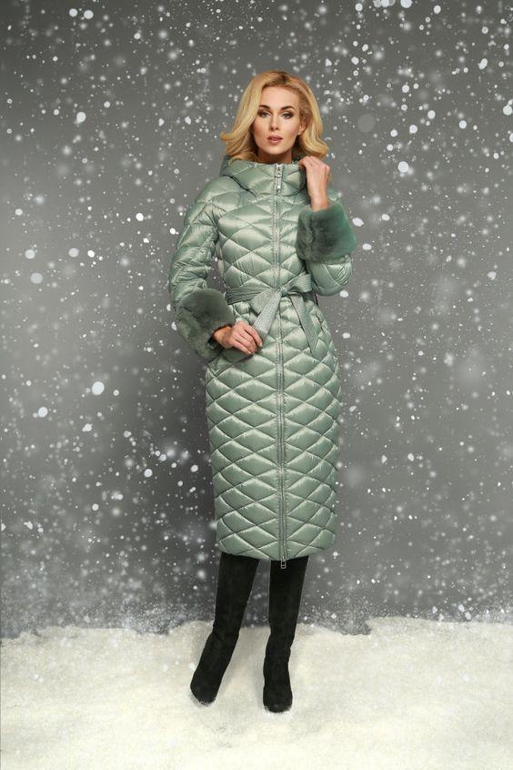 Модные пуховики зима 2019 фото женские модные   коллекция (29 картинок) (18)