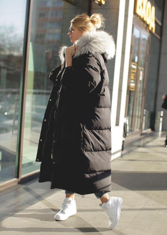 Модные пуховики зима 2019 фото женские модные   коллекция (29 картинок) (19)