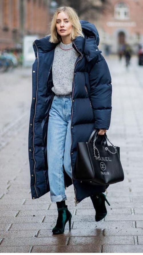 Модные пуховики зима 2019 фото женские модные   коллекция (29 картинок) (2)