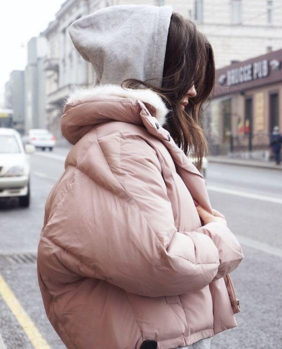 Модные пуховики зима 2019 фото женские модные   коллекция (29 картинок) (22)