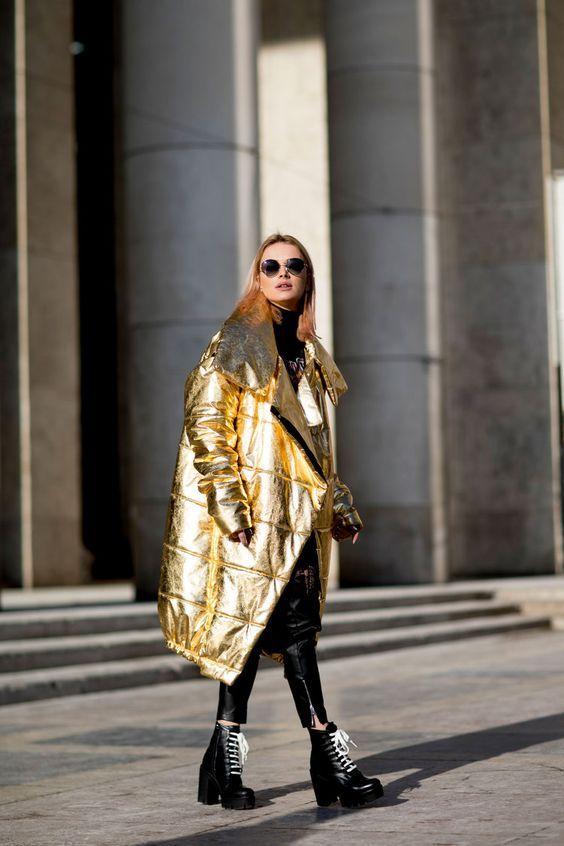 Модные пуховики зима 2019 фото женские модные   коллекция (29 картинок) (5)