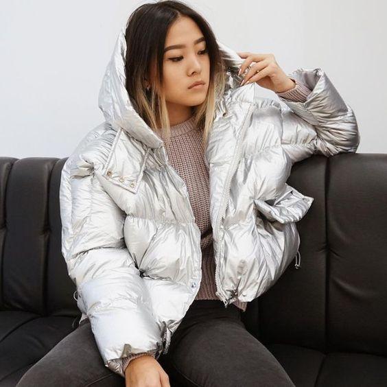 Модные пуховики зима 2019 фото женские модные   коллекция (29 картинок) (6)